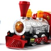 Bubble-Blowing Bump & Go Toy Train