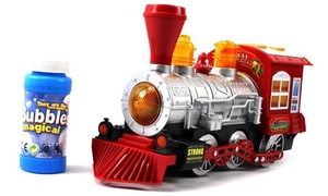 Bubble-Blowing Bump & Go Toy Train