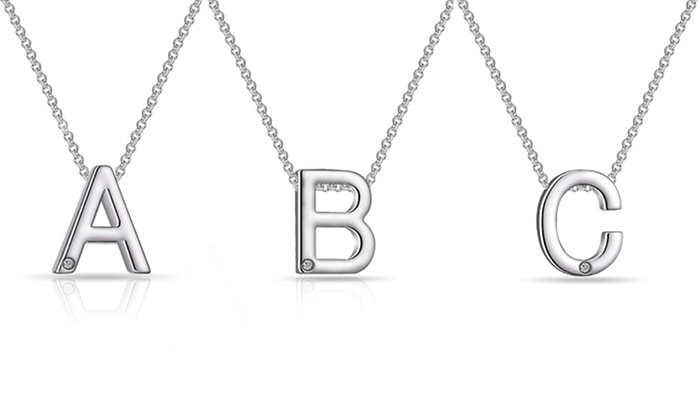 Up To 64 Off Philip Jones Letter Necklace Groupon