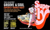 Superfly Groove and Soul Easter Party: Two Tickets to Cargo or Tunnel Lounge (Up to 33% Off)