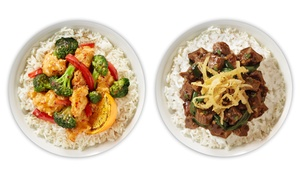 Tin drum asia cafe: Pan-Asian Lunch or Dinner for Two at Tin Drum Asiacafé (Up to 41% Off)