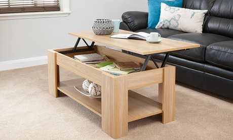 Lift-Top Coffee Table in Colours of Choice With Free Delivery