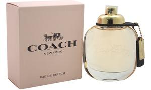 Coach New York Eau de Parfum for Women (0.15 Fl. Oz. or 3.4 Fl. Oz.)
