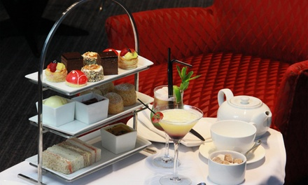 Traditional or Prosecco Afternoon Tea for Two at Clayton Hotel Birmingham