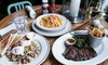 Jack Austin's Eat & Drink - Hell's Kitchen: Food and Drinks for Two or Four People at Jack Austin's Eat & Drink (Up to 45% Off). Two Options Available.