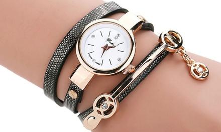 1 ou 2 montres pour femme, coloris au choix dès 14,99 € (jusqu'à 84% de réduction)