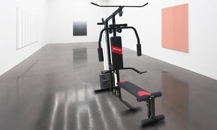 banc de musculation multi exercices groupon shopping. Black Bedroom Furniture Sets. Home Design Ideas