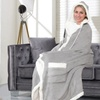 Jellie Cozy Plush Hooded Throw