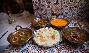 Le Rajasthan Villa: 2 menus thalie viande ou végétarien ou un menu Rajasthan Villa pour 2 personnes dès 29,99 € au Rajasthan Villa