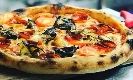 Pizza or Pasta Dish with Glass of Prosecco for Two at Fiume Restaurant