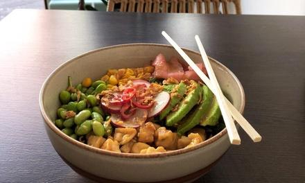 Tot 4 Poke Bowls naar keuze bij Poke & Avocado aan de Wagenstraat in hartje Den Haag