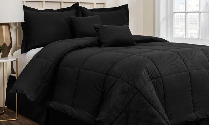 Ordinaire ... Hotel New York Embossed Comforter Set (6 Piece) ...