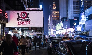 LOL Times Square Comedy Club: LOL Stand Up Comedy Times Square, May 1–August 31