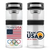 14 fl. oz. US Team Double-Wall Glass Travel Thermos