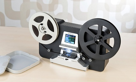 Digitalizador y escáner de películas 8 mm Somikon HD-XL Pearl