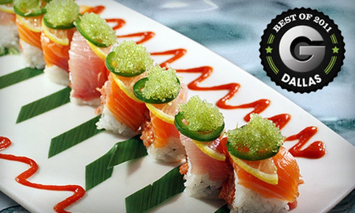 Naan Sushi Japanese Restaurant - Plano: $25 for $50 Worth of Japanese Cuisine at Naan Sushi Japanese Restaurant in Plano