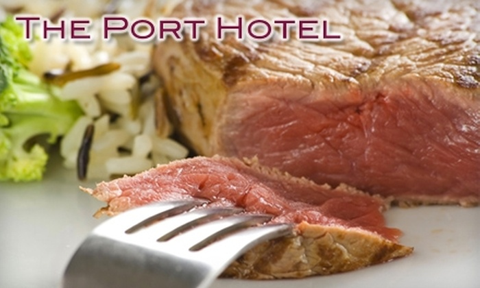 The Port Hotel - Milwaukee: $20 for $40 Worth of Steaks, Seafood, and Drinks at The Port Hotel Restaurant in Port Washington