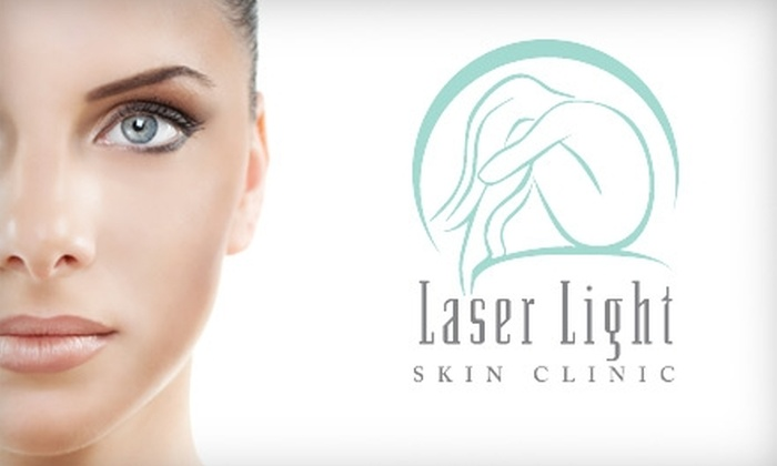 Laser Light Skin Clinic - Central Oklahoma City: $99 for Six Laser Hair-Removal Treatments at Laser Light Skin Clinic in Nichols Hills (Up to $750 Value)