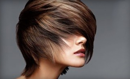 Haircut and Single-Process Color (a $96 value) - Jessica's Color Room Salon in Middletown