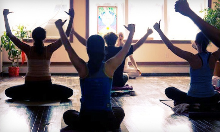 The Giving Tree Yoga Studio - Ditmars Steinway: $20 for 20 Classes at The Giving Tree Yoga Studio in Astoria (Up to $260 Value)