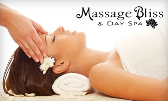 Massage Bliss & Day Spa - Multiple Locations: $32 for a Massage or $35 for a Facial at Massage Bliss & Day Spa