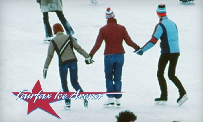 Fairfax Ice Arena - Fairfax: $8 for Ice Skating for Two at Fairfax Ice Arena (Up to $16 Value)