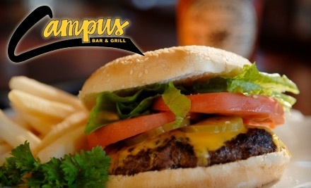 $20 Groupon to Campus Bar & Grill - Campus Bar & Grill in Columbia