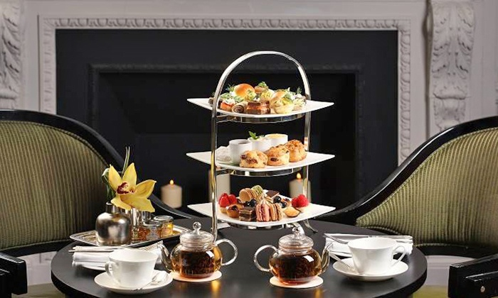 Two E Bar/Lounge at The Pierre, A Taj Hotel - Two E Bar/Lounge at The Pierre, A Taj Hotel: Royal or Traditional Tea Service for Two at Two E Bar/Lounge at The Pierre, A Taj Hotel (Up to 32% Off)