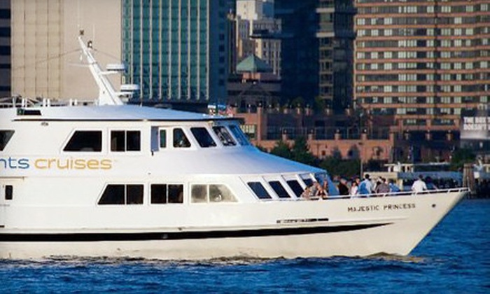 City Lights Cruises - Near North Side: $45 for a Three-Hour Party Cruise, Including Two Drinks, Hot Buffet, and Live DJ from City Lights Cruises (Up to $94.95 Value)