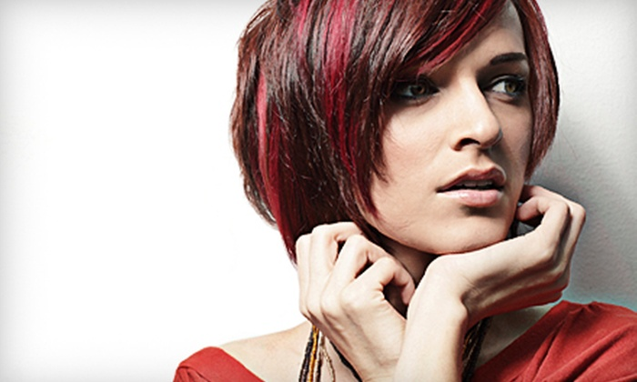 Slice Salon - Wells Avenue Neighborhood: Hairstyle Package at Slice Salon (Up to 65% Off). Three Options Available.