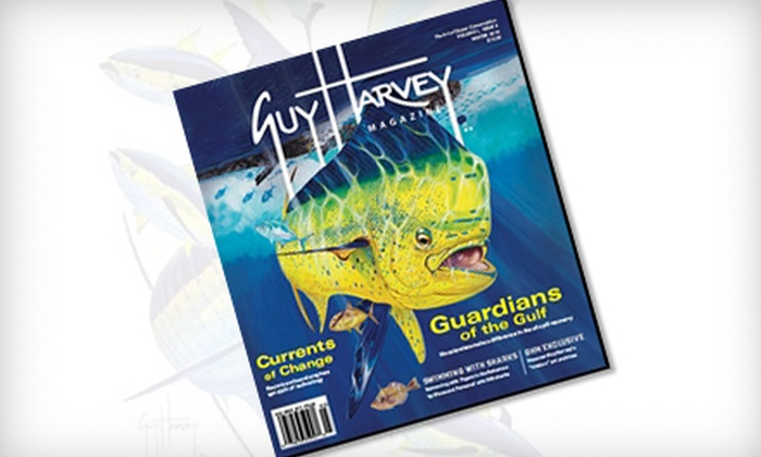 """Guy Harvey Magazine"": $10 for One-Year Subscription to ""Guy Harvey Magazine"" ($24.95 Value)"