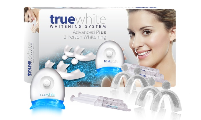 Save 54% on truewhite Advanced Plus 2 Person Whitening System