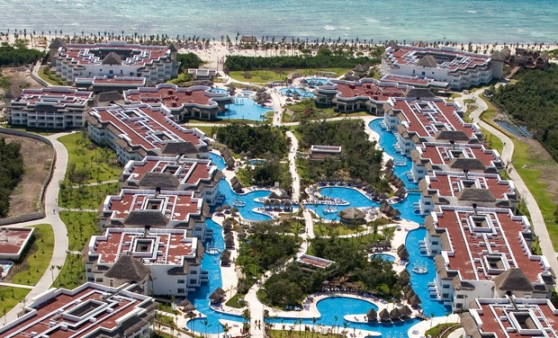 TripAlertz wants you to check out ✈ All-Inclusive Grand Riviera Princess Stay with Nonstop Air from Vacation Express. Price/Person Based on Dbl Occupancy. ✈ All-Inclusive Grand Riviera Princess with Air from Vacation Express  - All-Inclusive Mexico Stay