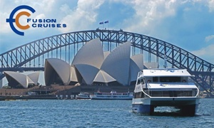 Fusion Cruises: $29 for a Sydney Harbour Cruise and Three-Course Lunch with Fusion Cruises (Up to $55 Value)