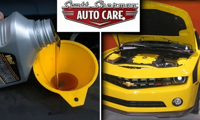 Scott Sherman Auto Care  - Shoreline: $17 for a Full-Service Oil Change and Roadside Assistance from Scott Sherman Auto Care