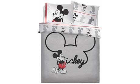 Housses couette Mickey et Minnie Disney