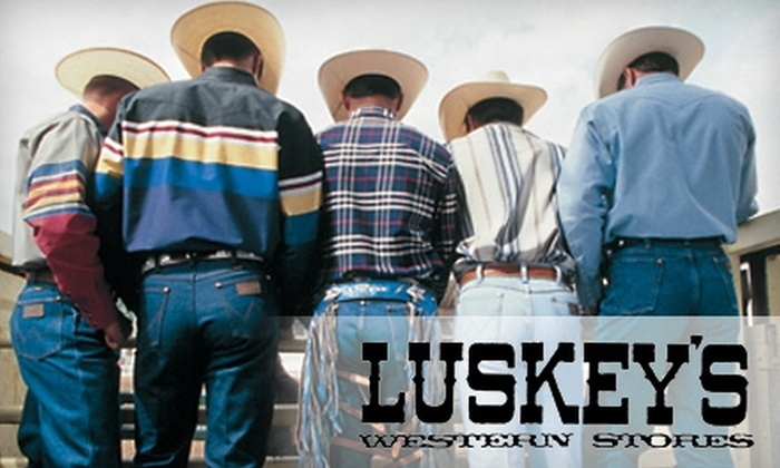 Luskey's - Fort Worth: $25 for $50 Worth of Western Apparel at Luskey's