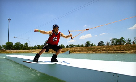 Two-Hour Water-Sport Outing (a $52 value) - Wake Nation Houston in Rosharon