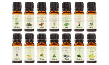 Nikura Gift Sets with up to 14 Essential Oils