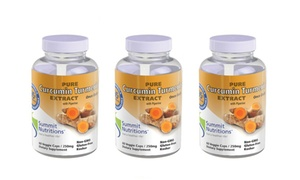 Summit Nutritions Organic Curcumin Turmeric Extract (1-, or 3-Pack)