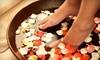 Charm Ville Day Spa - Brandon: $35 for a Papaya- and Guava-Nectar Sea-Salts Mani-Pedi at Charm Ville Day Spa in Valrico ($70 Value)