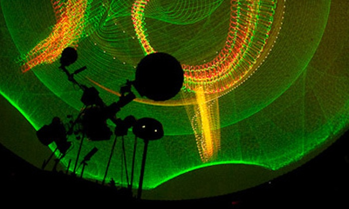 Whitworth Ferguson Planetarium - Buffalo: Laser Music Show for Two, Four, or Six at Whitworth Ferguson Planetarium (Up to 57% Off)
