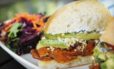 Lunch or Dinner for Two (up to a $22 value) - Sugar Plum Vegan Cafe in Sacramento