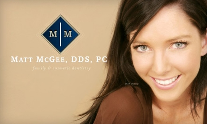 Matt McGee Family & Cosmetic Dentistry - Berry Hill: $99 for Teeth Whitening at Matt McGee Family & Cosmetic Dentistry ($300 Value)