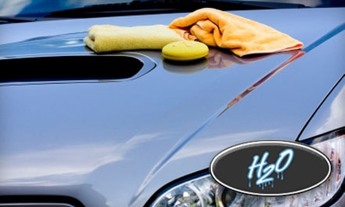 H2O Hand Car Wash and Detail - Multiple Locations: $50 for a Gift Card for $100 Worth of Services at H2O Hand Car Wash and Detail. Choose from Three Locations.
