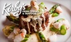 Kirby's Prime Steakhouse San Antonio - Stone Oak: $30 for $60 Worth of Steaks and More at Kirby's Prime Steakhouse
