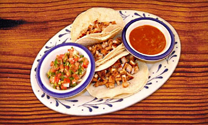El Tapatio - Wilmington: Mexican Fare and Drinks Monday–Thursday or Friday–Sunday at El Tapatio