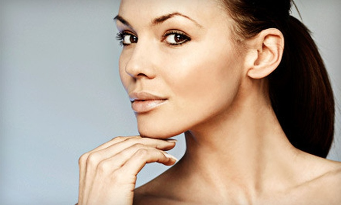Cosmetic Laser Solutions - Downtown: Skin Tightening of the Jaw or Neckline, or Arms or Belly at Cosmetic Laser Solutions (Up to 58% Off)