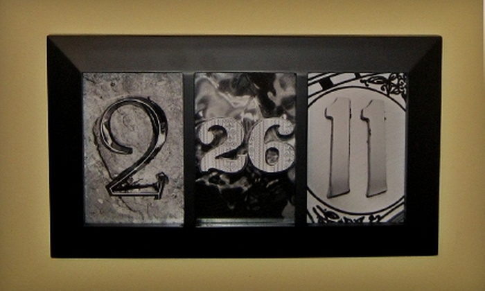 Katie Cat Creations: $14 for $28 Worth of Custom-Made Letter and Number Photo Art from Katie Cat Creations