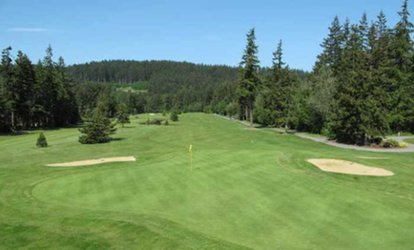image for 18-Hole Round of <strong>Golf</strong> with Cart and Range Balls for Two or Four at Camaloch <strong>Golf</strong> Course (Up to 54% Off)